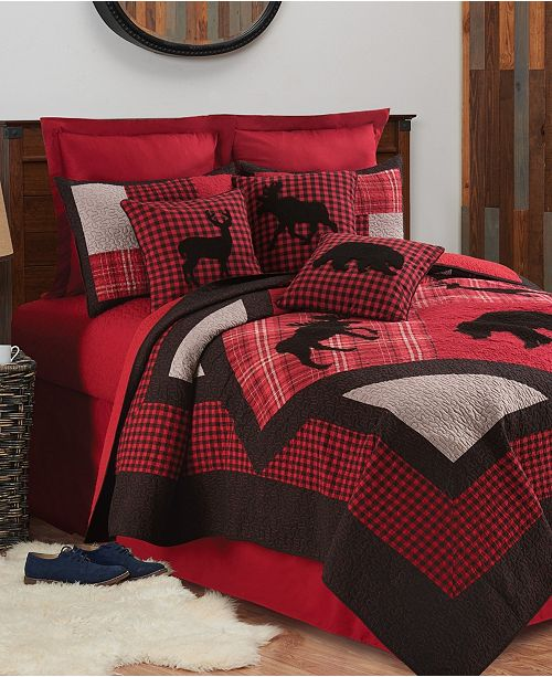 C&F Home Russell King Quilt Set