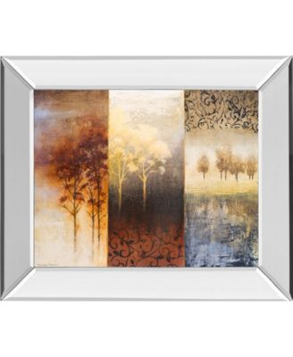 Lost in Trees I by Michael Marcon Mirror Framed Print Wall Art, 22