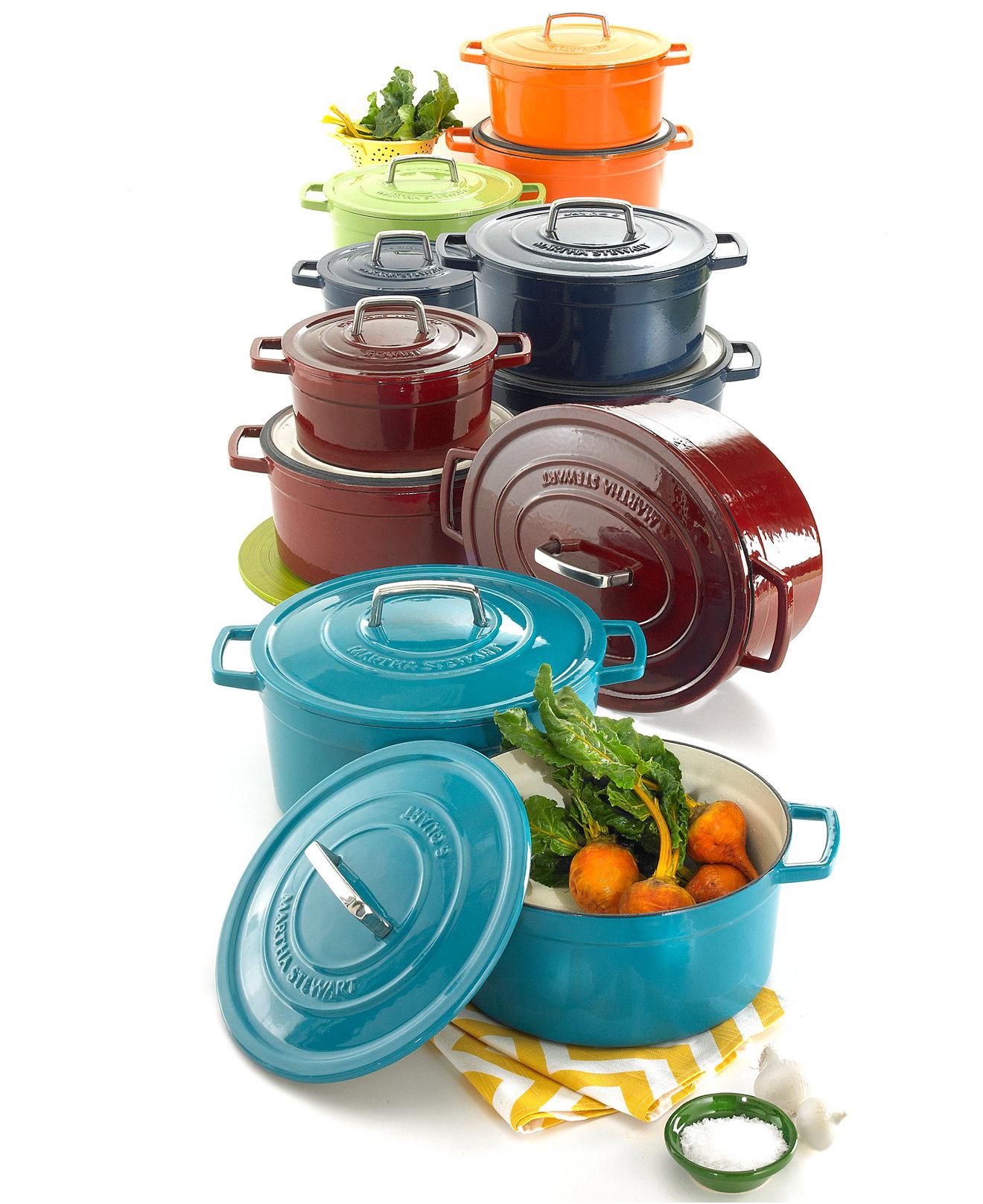 Co color cast cookware - Larger View