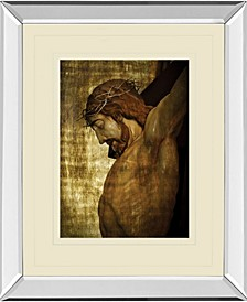 "Jesus Christ by Nito Mirror Framed Print Wall Art, 34"" x 40"""