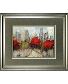 """Downtown by Allison Pearce Framed Print Wall Art, 34"""" x 40"""""""