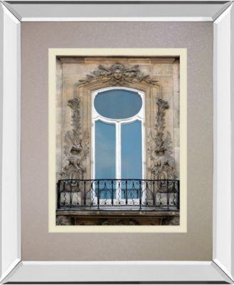 "Rue De Paris III by Tony Koukos Mirror Framed Print Wall Art, 34"" x 40"""