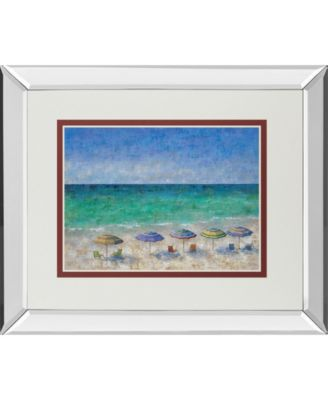 """South Shore I by Dominick Mirror Framed Print Wall Art, 34"""" x 40"""""""