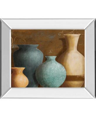 """Ancient Clay II by Lanie Loreth Mirror Framed Print Wall Art, 22"""" x 26"""""""