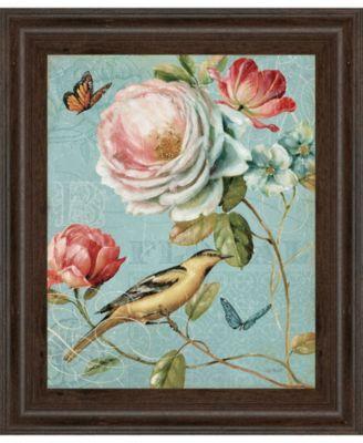 "Spring Romance II by Lisa Audit Framed Print Wall Art, 22"" x 26"""