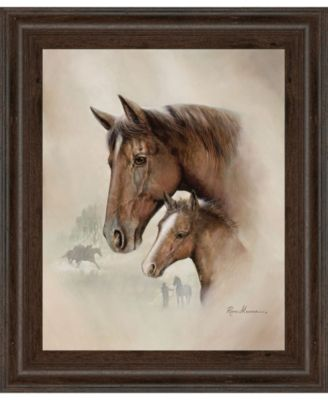 """Race Horse I by Roane Manning Framed Print Wall Art, 22"""" x 26"""""""