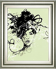"Star II by Oksana Leadbitter Framed Print Wall Art, 22"" x 26"""