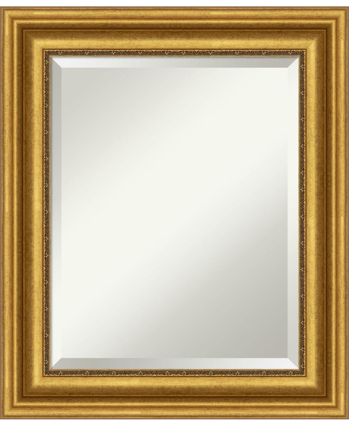 Amanti Art Parlor Gold-tone Framed Bathroom Vanity Wall Mirror, 21.62
