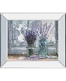 "Abundance of Beauty by Lori Deiter Mirror Framed Print Wall Art, 22"" x 26"""