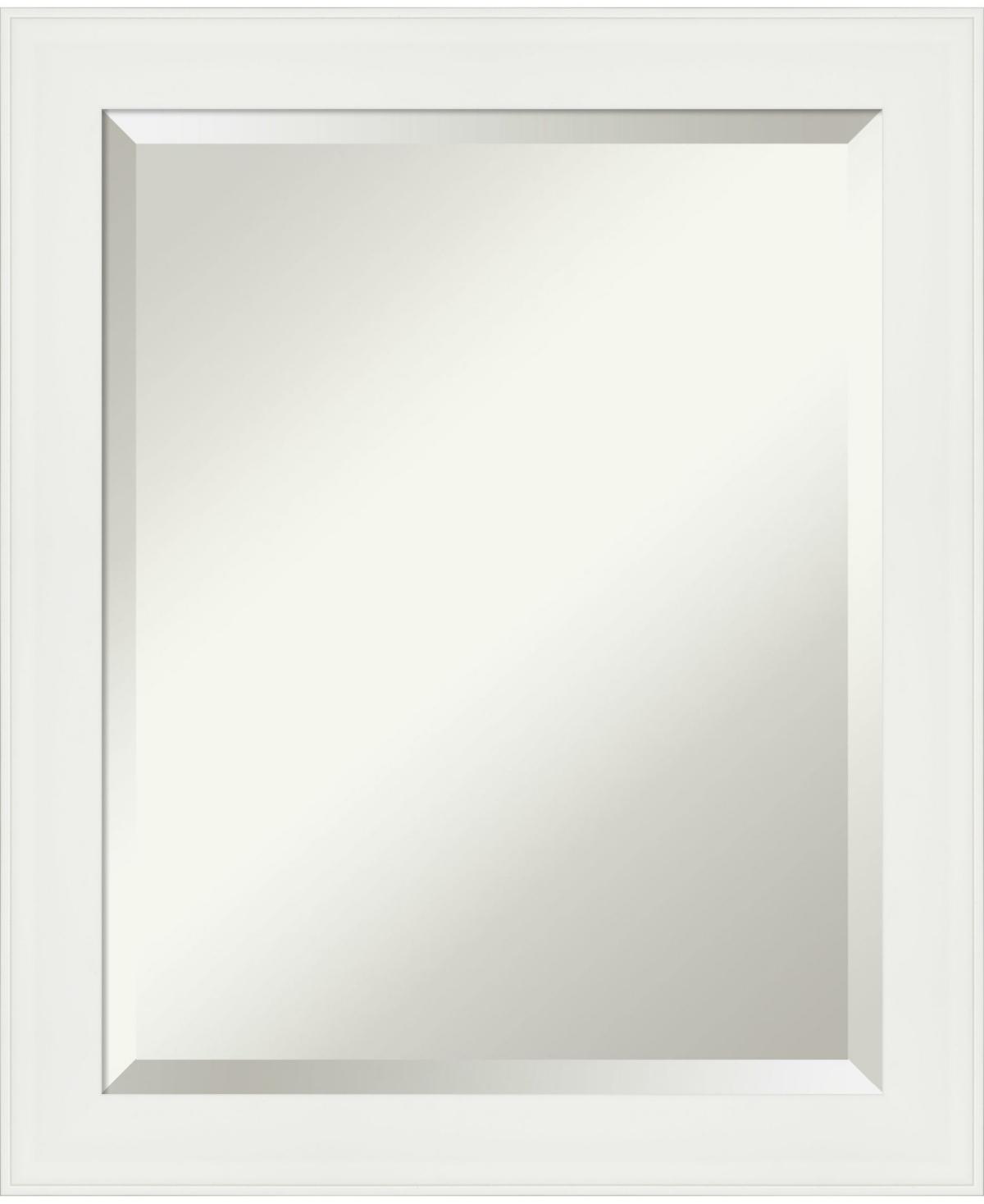 Amanti Art Vanity Framed Bathroom Vanity Wall Mirror, 19.38