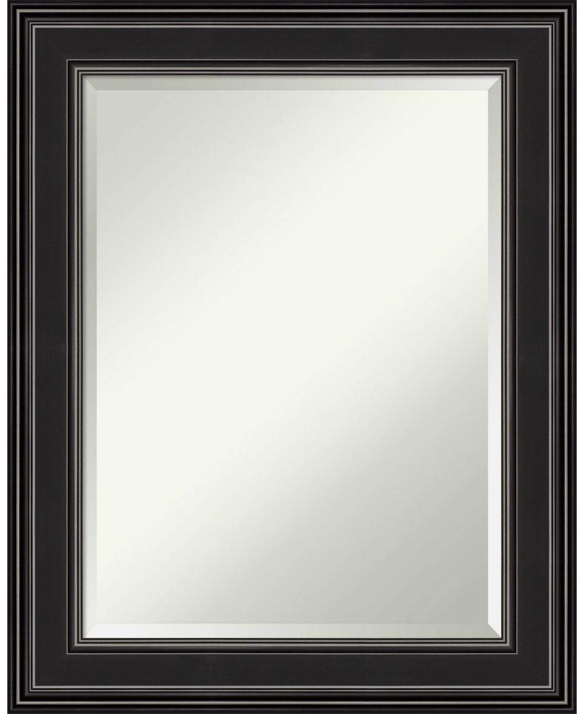 Amanti Art Ridge Framed Bathroom Vanity Wall Mirror, 23.75
