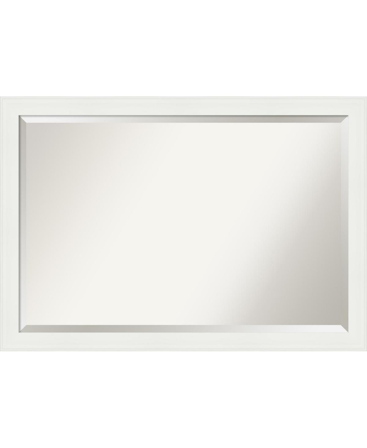Amanti Art Vanity Framed Bathroom Vanity Wall Mirror, 39.38