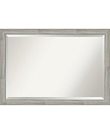 "Dove Framed Bathroom Vanity Wall Mirror, 39.5"" x 27.50"""