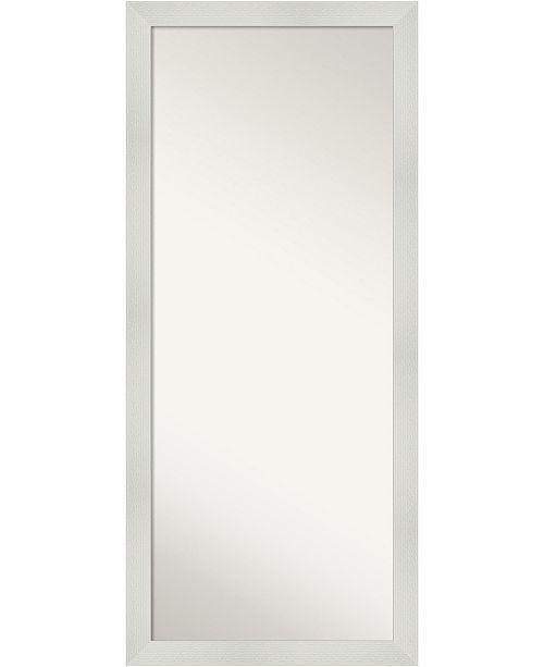 Amanti Art Mosaic Framed Floor Leaner Full Length Mirror 28 25 X 64 25 Reviews All Mirrors Home Decor Macy S