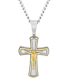 Men's Crucifix Pendant Necklace