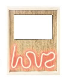 "Neon ""Love"" Photo Frame"