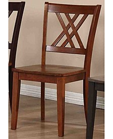 Company Double X-Back Dining Chairs, Set of 2