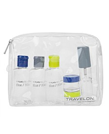 1-quart Zip-top Bag with Bottles