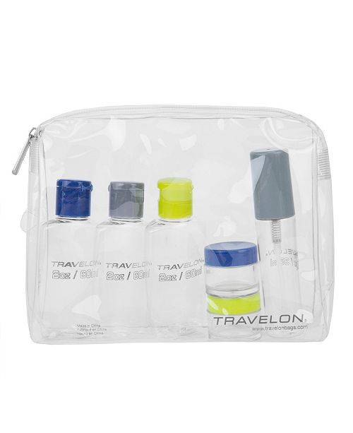 Travelon 1-quart Zip-top Bag with Bottles