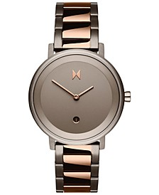 Women's Signature II Dusk Taupe Two-Tone Steel Bracelet Watch 34mm