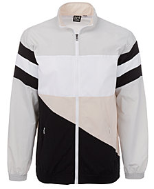 ID Ideology Men's Woven Colorblocked Jacket, Created for Macy's