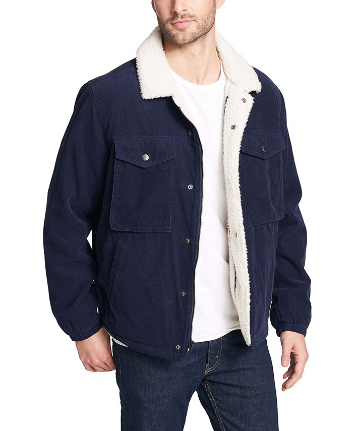 Levi's - Men's Fleece-Lined Corduroy Trucker Jacket