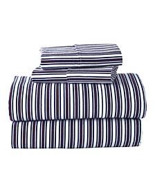 G.H. Bass Canyon Stripe Twin Sheet Set