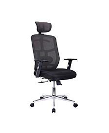 Techni Mobili Mesh Office Chair, Quick Ship