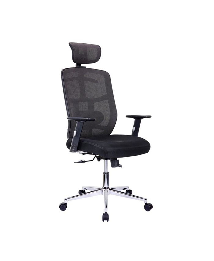 RTA Products - Techni Mobili Mesh Office Chair, Quick Ship