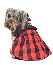 Buffalo Checkered Taffeta Dog Dress