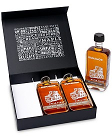 3-Pc. Barrel-Aged Maple Syrup Gift Box
