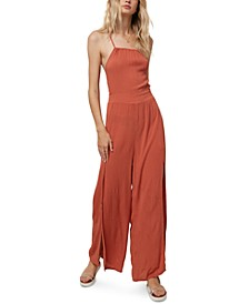 Juniors' Shayne Wide-Leg Jumpsuit