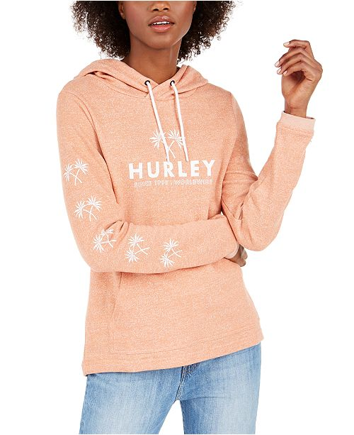Hurley Worldwide Palm Tree-Print Hoodie