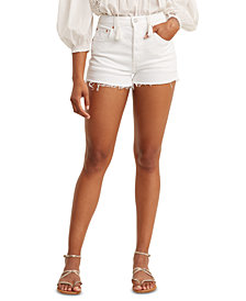 Levi's® Women's 501 Cotton High-Rise Denim Shorts