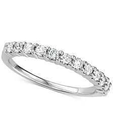 Diamond Anniversary Ring (1/2 ct. t.w.) in 14k White Gold