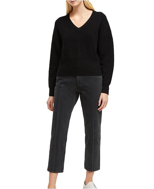 French Connection River Vhari V-Neck Sweater