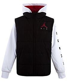 Little Boys Layered-Look Hybrid Jacket, Created For Macy's