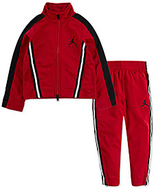 Jordan Little Boys 2-Pc. Air Jordan Track Jacket & Pants Set