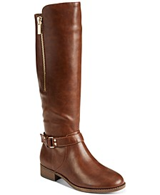 Women's Winnnie Strap Riding Boots, Created For Macy's