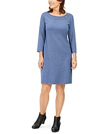 Sport Cotton Hardware Dress, Created for Macy's