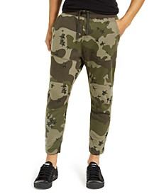 Men's Slim-Fit Camo Jogger Pants, Created For Macy's