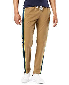 Men's Alpha Smart 360 Flex Stretch Side Stripe Pants, Created For Macy's