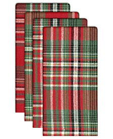 Walden Woven Plaid Napkins, Set of 4