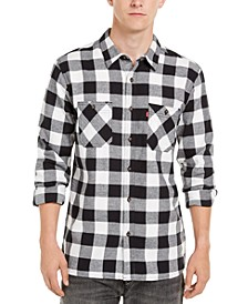 Men's Buffalo Check Flannel Shirt