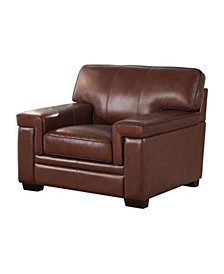 Harper Leather Arm Chair