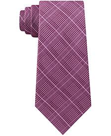 Michael Kors Men's Elijah Classic Plaid Tie