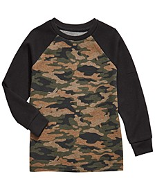 Big Boys Camo-Print Thermal T-Shirt, Created For Macy's