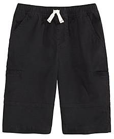 Big Boys Stretch Twill Cargo Shorts, Created For Macy's