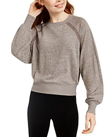 Juniors' Dolman-Sleeved Sweatshirt