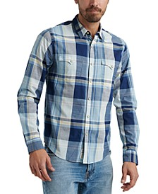 Men's Alameda Western Plaid Shirt